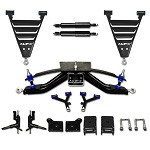 "EZGO Gas RXV Golf Cart 2008-Up 6"" A-Arm HD MadJax Lift Kit 