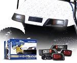 Madjax EZGO TXT 1996-2013 Golf Cart Headlight and Tail Light Kit | MJLK2000