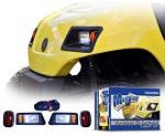 Madjax Yamaha G14 G16 G19 G22 Golf Cart Headlight and Tail Light Kit | MJLK3001