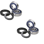 1999 Harley FXDL Dyna Low Rider Wheel Bearing and Seal Kit Set of 2