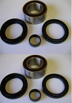 1987 Honda TRX350 Front Wheel Bearing & Seal Kit | Set of 2