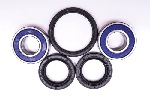 1988-1991 Honda Hawk GT NT650 Front Wheel Bearing and Seal Kit