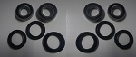 1987-1999 Yamaha Big Bear YFM350FW Front Wheel Bearing and Seal Kit Set 2