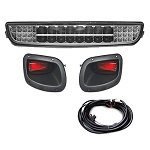 EZGO TXT Golf Cart 1996-2013 | GTW LED Light Bar Kit w/ Tail Lights