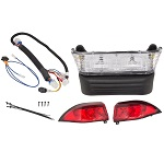 GTW Basic Headlight Tail Light Kit | 2004-Up Club Car Precedent Golf Cart | 02-074