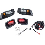 EZGO TXT Golf Cart 1994.5-2013 | GTW Headlight Light Kit w/ Tail Lights