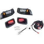 EZGO TXT Golf Cart 1994.5-2013 | GTW Headlight Light Kit w/ Tail Lights
