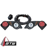 Yamaha G29 Drive Golf Cart 2007-2016 | GTW Headlight Light Kit w/ Tail Lights