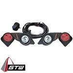 Yamaha G29 Drive Golf Cart 2007-2016 | GTW Headlight Light Kit w/ Tail Lights