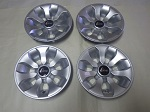 "Golf Cart EZGO Yamaha Club Car 8"" Drifter Silver Wheel Cover Hub Cap Set of 4"