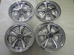 "Golf Cart EZGO Yamaha Club Car 10"" Rally Chrome Wheel Cover Hub Cap 