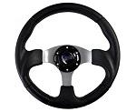 Madjax 13? Black Razor Steering Wheel Golf Carts Yamaha EZGO Club Car