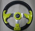 Madjax 13? Yellow / Black Razor 2 Steering Wheel Golf Carts Yamaha EZGO Club Car