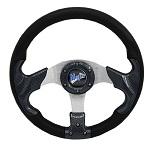 """Madjax 13"""" Carbon Razor Steering Wheel Golf Carts Yamaha EZGO Club Car"""