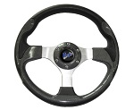 "Madjax 13"" Carbon Fiber Ultra Steering Wheel Golf Carts Yamaha EZGO Club Car"