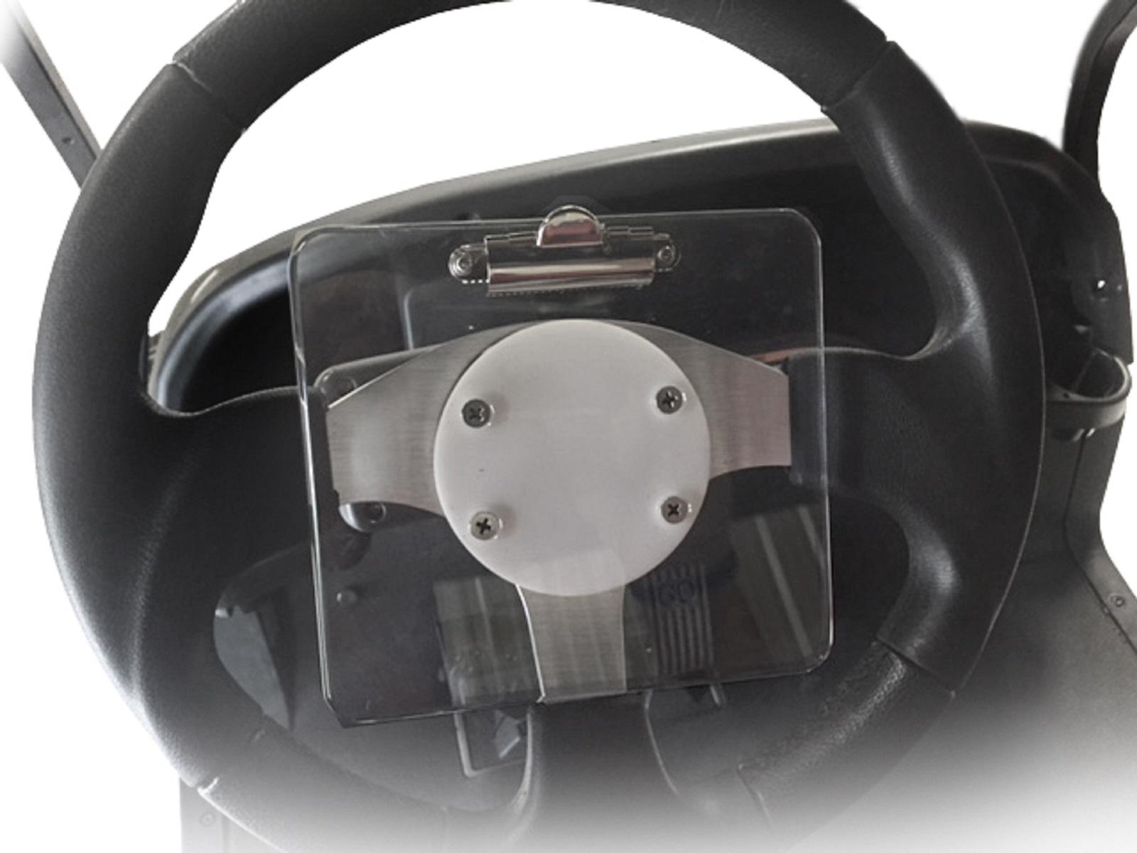 Madjax Golf Cart Score Card Holder for Aftermarket Steering Wheels on e-z-go golf cart parts, club car golf cart parts, jake's golf cart parts, franklin golf cart parts, yamaha golf cart parts, nivel golf cart parts,