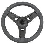 "Gussi Italia Giazza Black 14"" Steering Wheel 