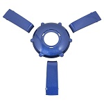 Gussi Italia Giazza Steering Wheel Insert Set | Blue