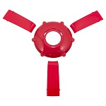 Gussi Italia Giazza Steering Wheel Insert Set | Red