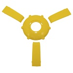 Gussi Italia Giazza Steering Wheel Insert Set | Yellow