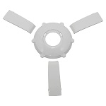 Gussi Italia Giazza Steering Wheel Insert Set | White