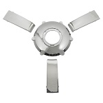 Gussi Italia Giazza Steering Wheel Insert Set | Chrome