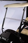 Club Car Precedent Golf Cart 2004-Up Clear Acrylic Folding Front Windshield