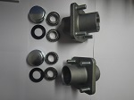 EZGO Golf Cart 1976-2001 1/2 Front Wheel Hub Kit with Bearings and Seals Set of 2