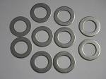 Yamaha Golf Cart G2 - G21 King Pin Steering Knuckle Thrust Washer Plate Set of 10