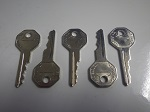 EZGO Golf Cart 1976-1980 Replacement Ignition Key Switch Key | Set of 5