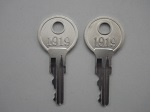 EZGO Golf Cart 1982-2009 Gas or Electric Ignition Key Replacement | 2 Keys