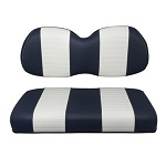 Club Car Precedent Golf Cart 2004-Up | Custom Front Seat Covers | Navy/White