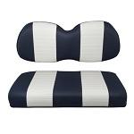 Club Car Precedent Golf Cart 2004-Up | Custom Front Seat Cushions | Navy/White