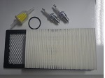 EZGO TXT Gas Golf Cart 1996-2005 | Tune Up Kit Air Filter Spark Plugs Fuel Filter