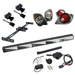 GTW Street Legal Road Ready Light Kit | Yamaha G29 Drive 2007-2016 Golf Cart