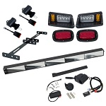 GTW Street Legal Road Ready Light Kit | Yamaha G22 2003-2007 Golf Cart