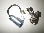 Harley Davidson 2-Cycle Golf Cart 1970-1985 Points & Condenser Condensor Set