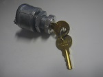 Golf Cart Universal 12V 2 Spade Terminal Ignition Switch w/ 2 Uncommon Keys