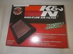 EZGO TXT Medalist Gas Golf Cart 1994.5-2004 K&N Performance Air Filter