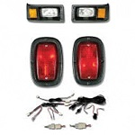 Yamaha G2 G9 Golf Cart Premium Head Light Tail Light Kit
