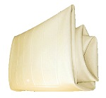 Yamaha Golf Cart G2 and G9  Seat Bottom Cover Ivory | JG5-K8404-09