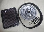 Yamaha G11-G22 Gas Golf Cart Performance Power Kit KN filter, Sheave & Spring