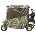 EZGO TXT Golf Cart 1994.5-Up Camo 3-Sided Over-the-Top Cab Enclosure