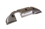 Club Car Precedent Golf Cart 2008.5-Up Titanium Dash Cover w/ Locking Glove
