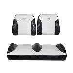 Yamaha G29 Drive Golf Cart 2007-2016   Suite Seats Bucket Style   Black/White