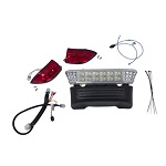 Club Car Precedent 2004-2008.5 Electric Golf Cart | GTW LED Light Bar light Kit