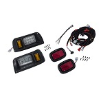 Club Car DS Golf Cart 1993-Up | GTW Premium LED Head Light Kit Tail Light