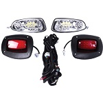 EZGO RXV Golf Cart 2008-2015 | GTW Premium LED Head Tail Light Kit