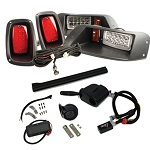 EZGO TXT Golf Cart 1994.5-2013 | GTW Premium LED Light Kit w/ Signals Horn