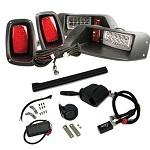 EZGO TXT Golf Cart 1994.5-2013 | GTW Premium LED Light Kit w/ Signals Horn
